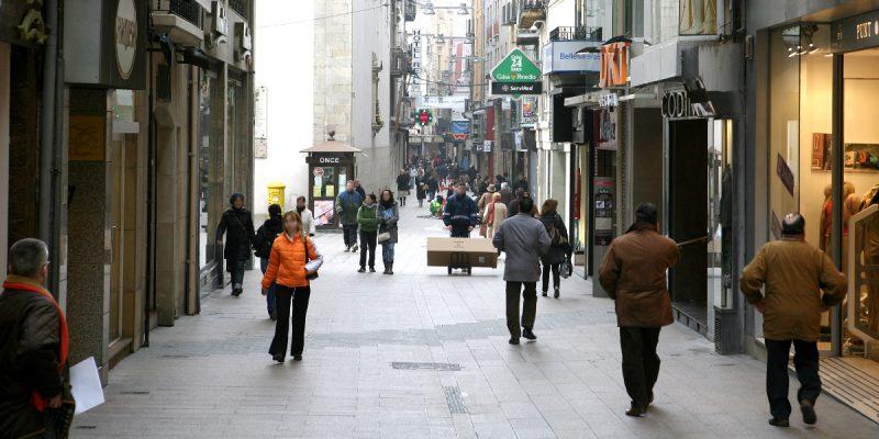carrer major lleida arno obras urbanas