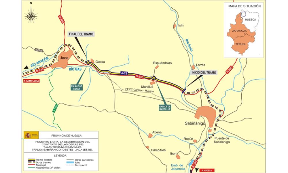 Arno Infraestructuras Obra civil Carreteras A23 Sabinanigo- (3)