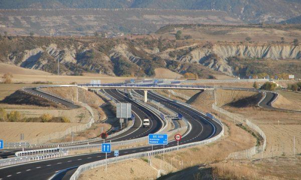Arno Infraestructuras Obra civil Carreteras A23 Sabinanigo- (1)
