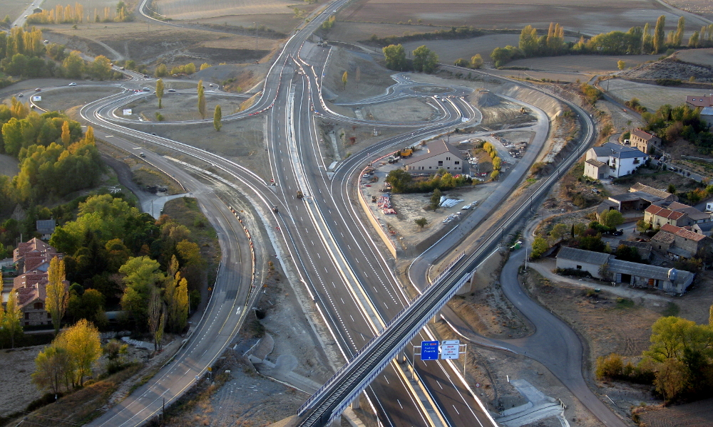 Arno Infraestructuras Obra civil Carreteras A23 Sabinanigo- (2)