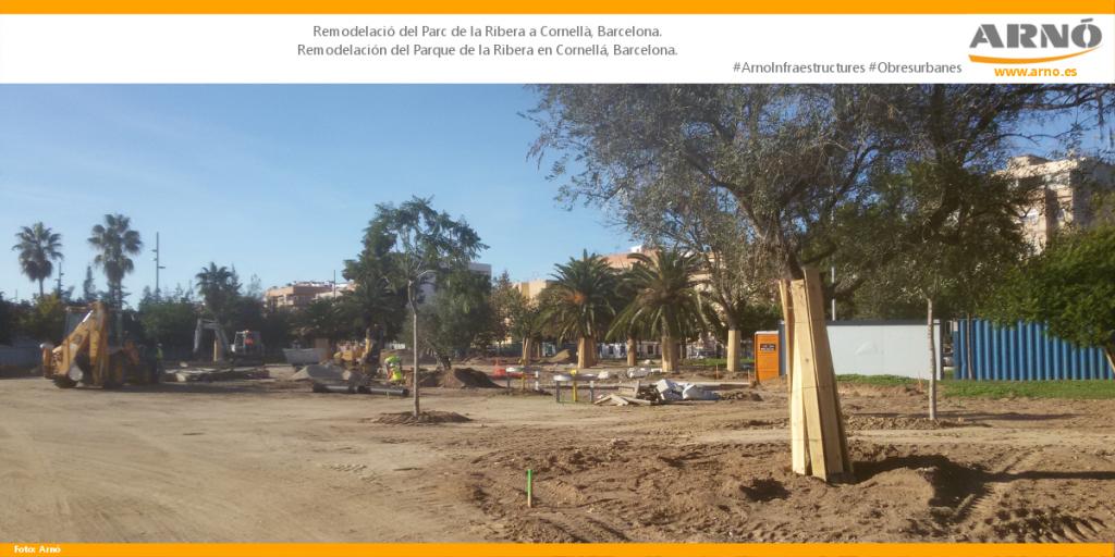 Parc La Ribera-S-Cornella del Llobregat-Arno Obres Urbanes Obras Urbanas Ciutat ciudad