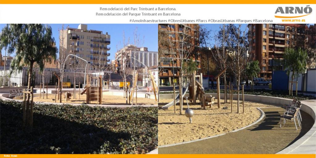 Parc Trinxant-Sant Marti-Barcelona-Arno Obres Urbanes Obras Urbanas Ciutat ciudad