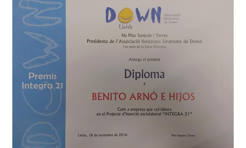 20161118 Sopar-DownLleida-premi-IntegraXXI-Arno (11)