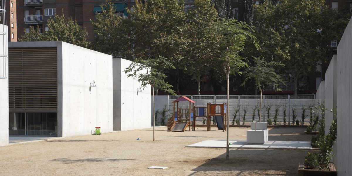 Guarderia Josep Pla-Arno-Patio