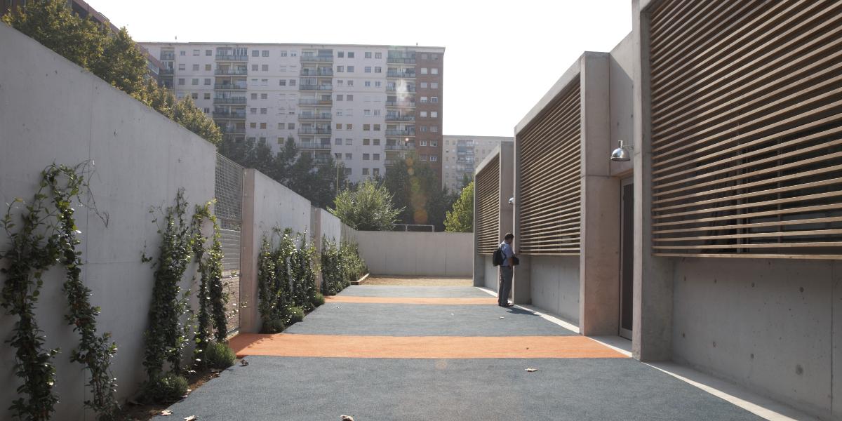 Guarderia Josep Pla-Arno-Entrada