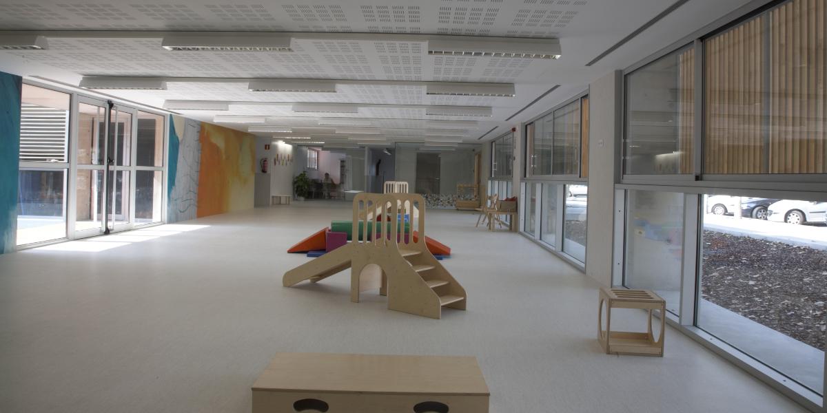 Guarderia Josep Pla-Arno-Sala de juegos
