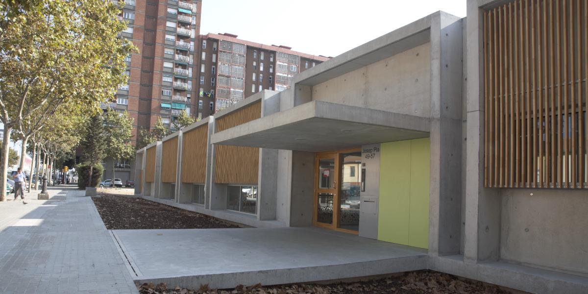 Guarderia Josep Pla-Arno-Fachada