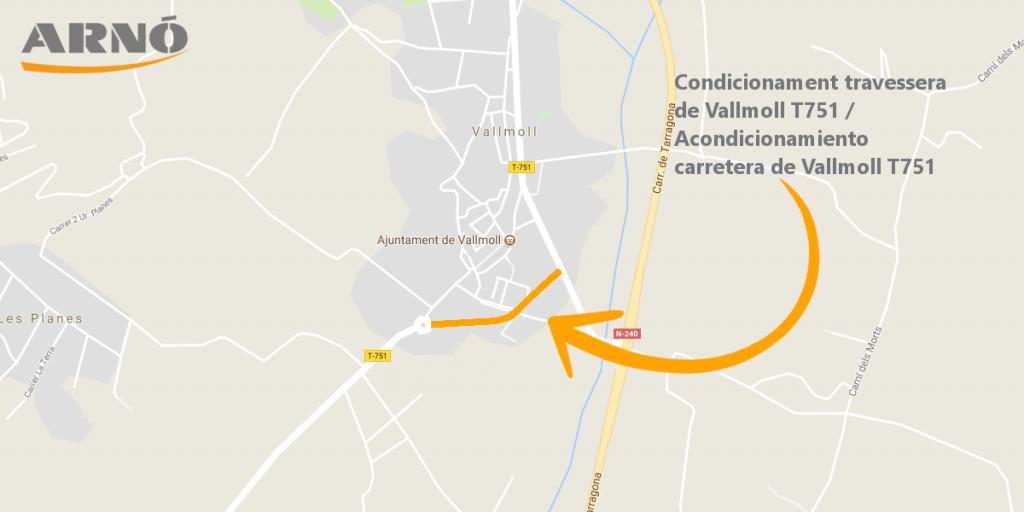 Maps travessera vallmoll t751-adjudicacio-Arno