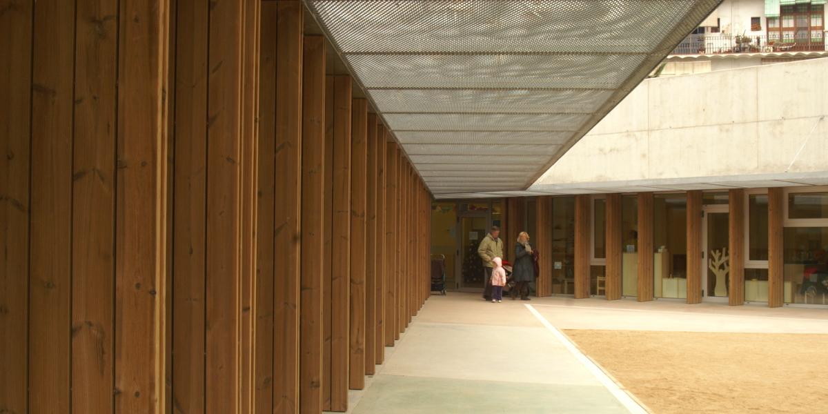 Guarderia La Alianza-Barcelona-Arno-Entrada