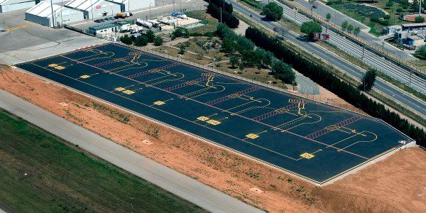 Obras aeropuerto de Sabadell-Arno