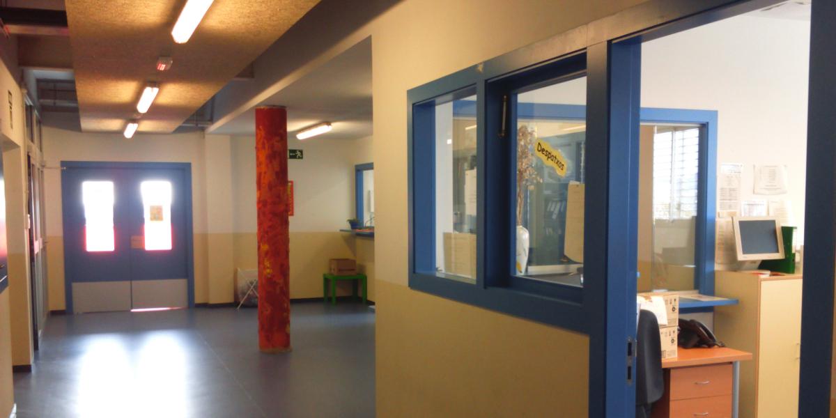 2269 Escola Riera Alta-Santa Coloma de Gramenet-Arno-entrada