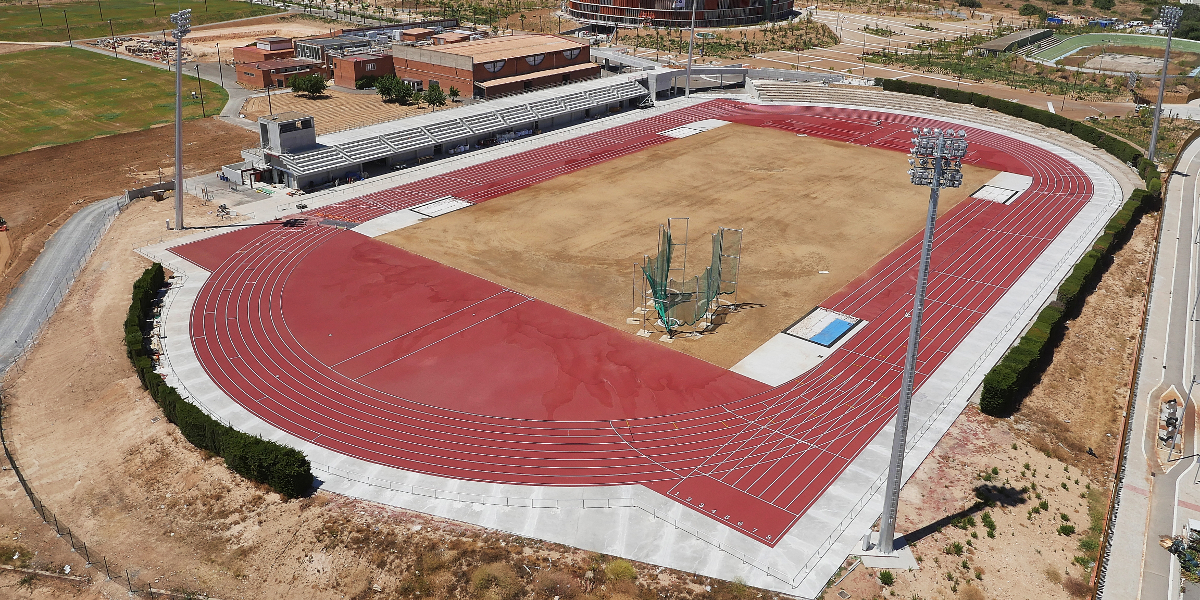 Pista altetismo Camplar-Tarragona- Juegos del Mediterraneo-Arno-12