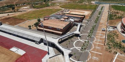 Pista altetismo Camplar-Tarragona- Juegos del Mediterraneo-Arno-13