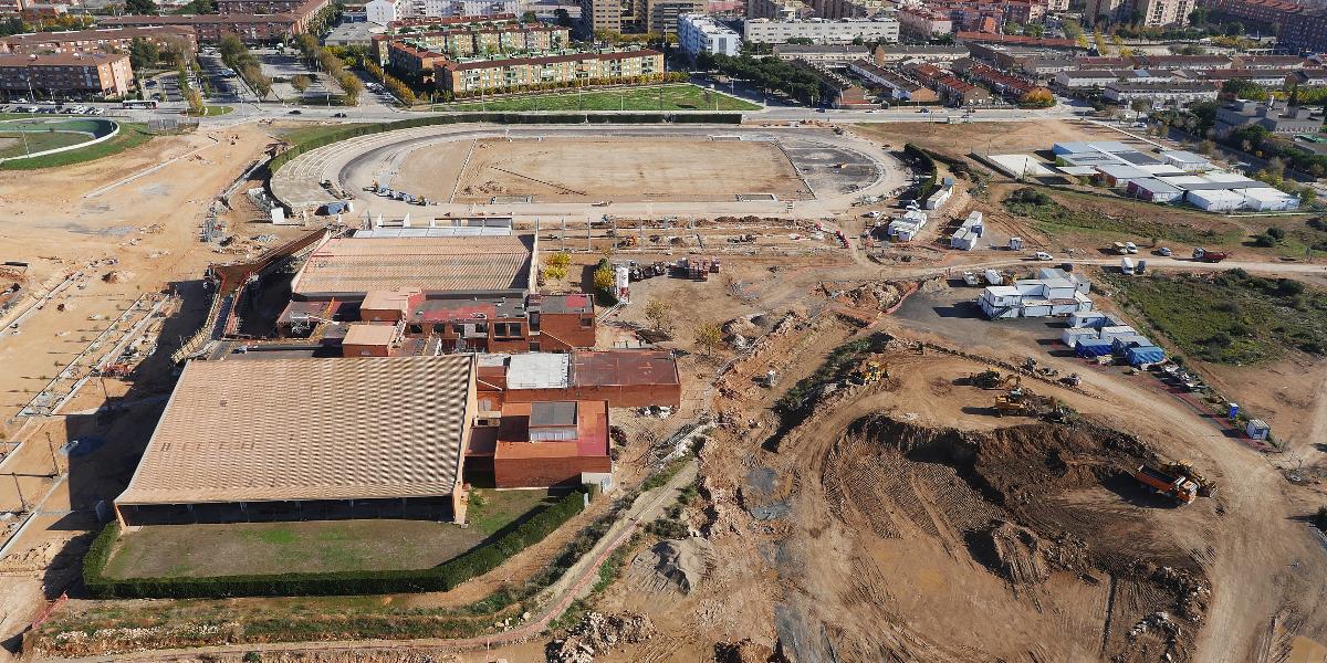 Pista altetismo Camplar-Tarragona- Juegos del Mediterraneo-Arno-2