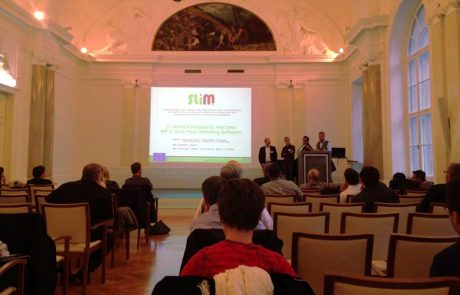Encuentro de seguimiento de los primeros doce meses del proyecto europeo SLIM de minería sostenible en la Universidad de Leoben (Austria).