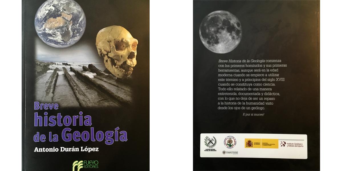 Breve historia de la geología, Antonio Durán. Fueyo Editores. Madrid 2017