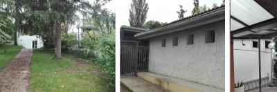 Jardín y entrada, colegio suizo de madrid
