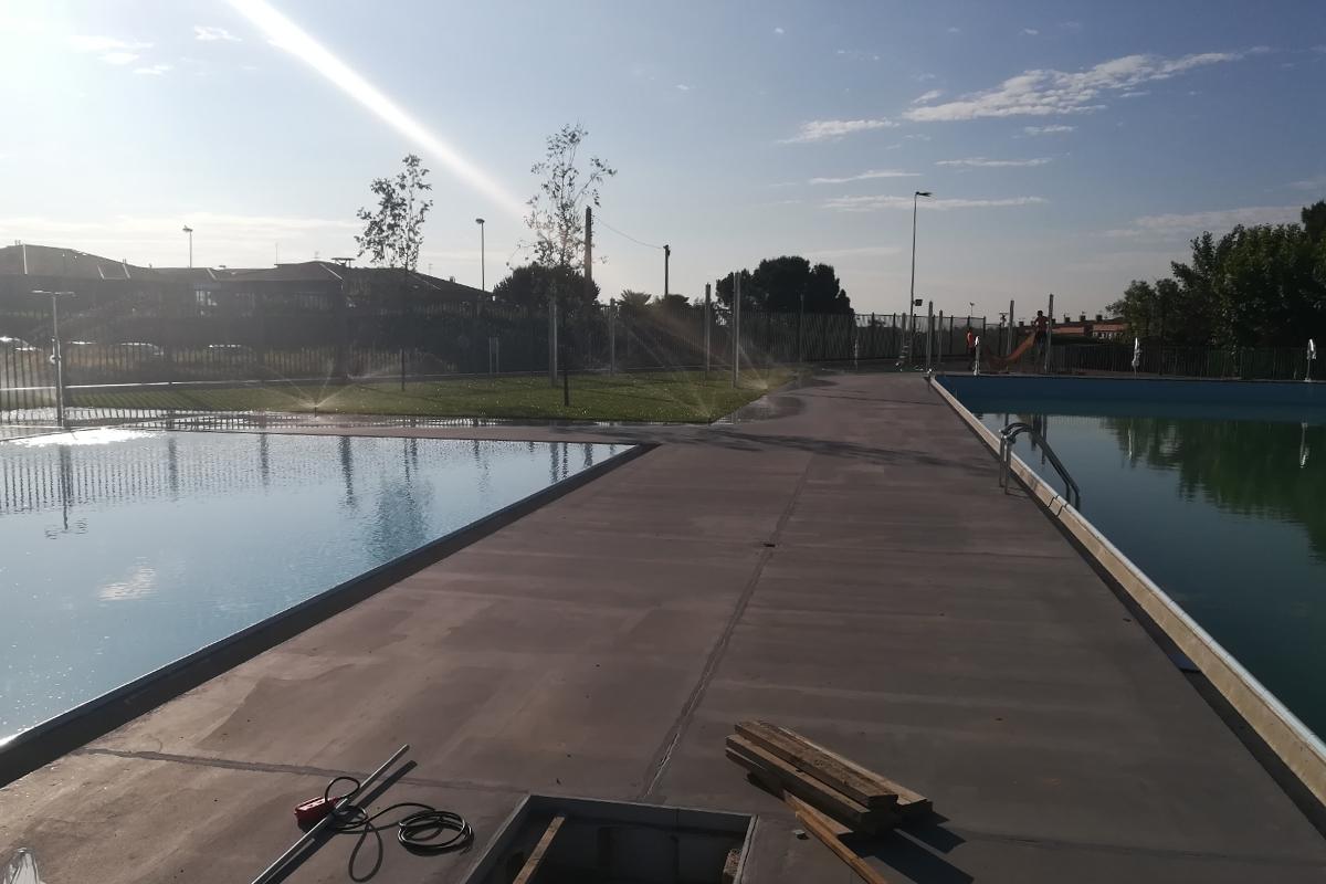 trabajos exterior piscina alpicat-arno