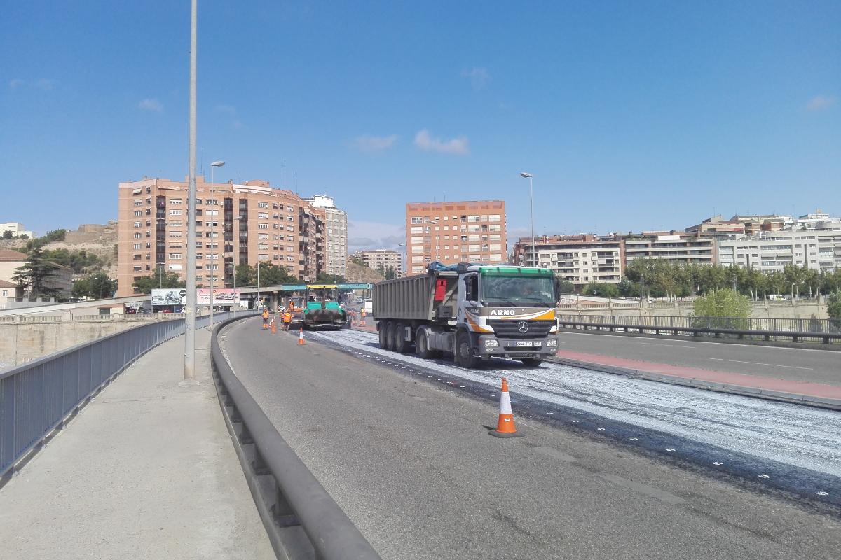 Asphacal. Puente de la Universidad, Lleida. Arnó