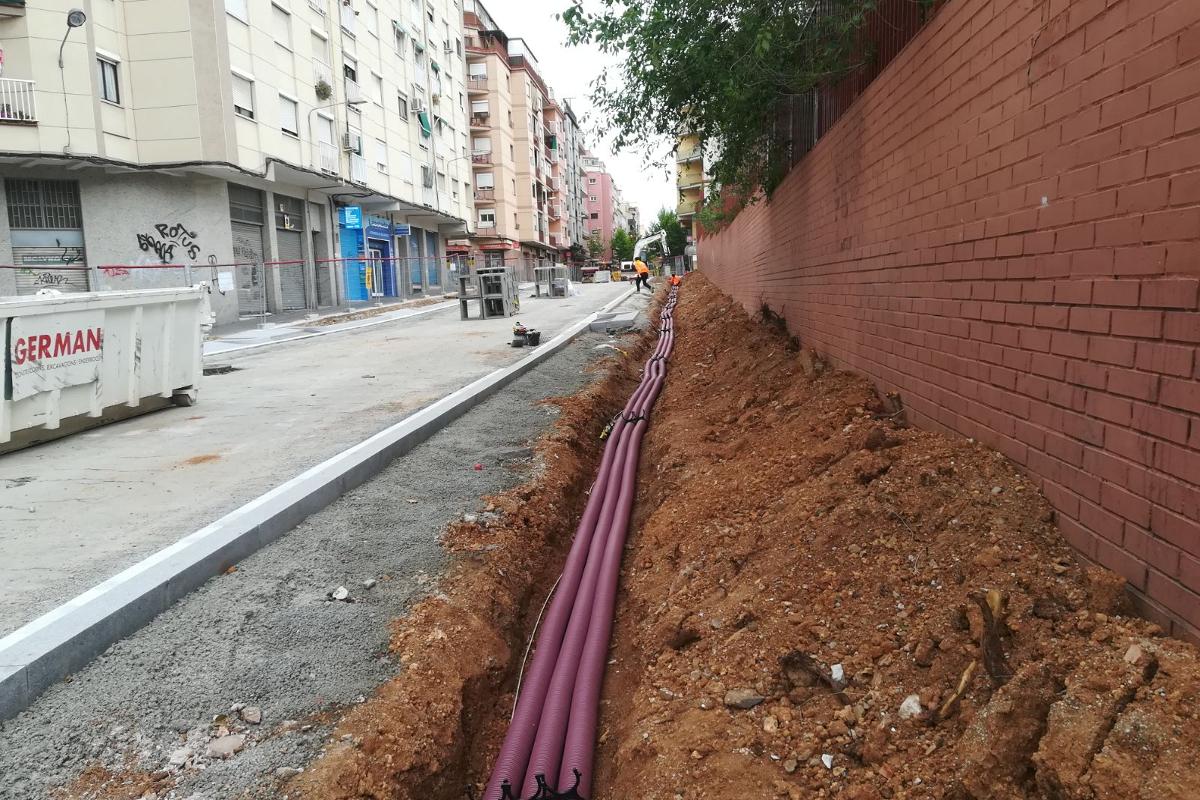 instalaciones arranjament carrer Enginyer moncunill-hospitalet llobregat-arno (6)