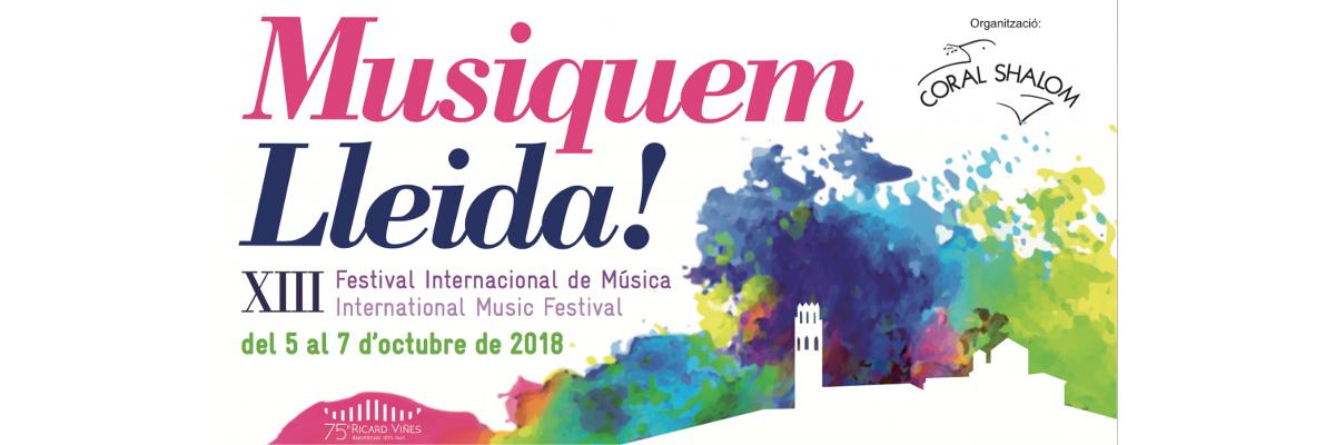 Arnó, patrocinadora del festival Musiquem Lleida!