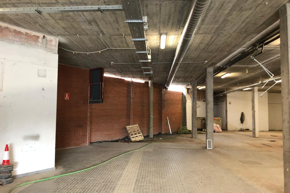 interior estacio provisional Sabadell-Arno
