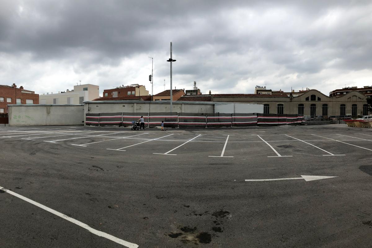 aparcament exterior estacio Can Feu Sabadell-Arno