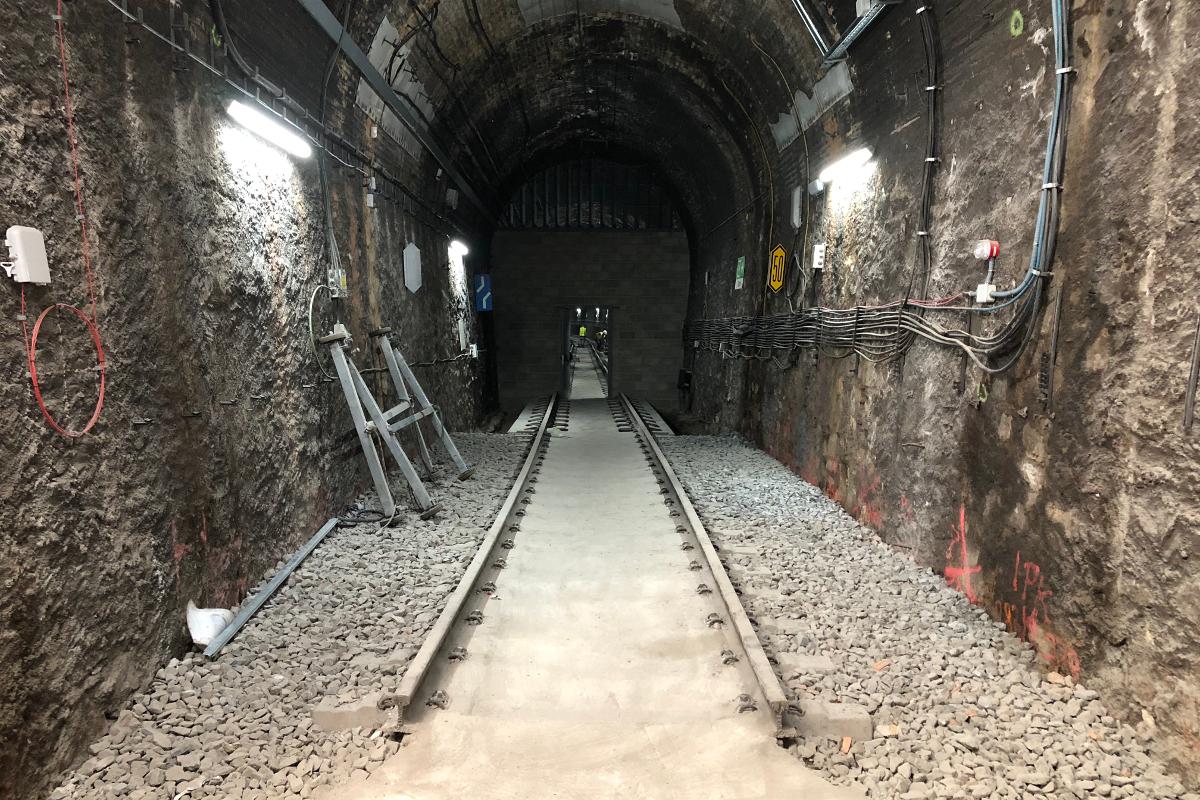 tunel tren sabadell-Arno