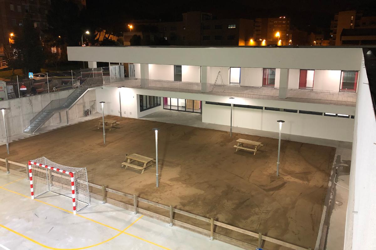 Acceso a zona de recreo CEIP Palau Ametlla-12-Arno
