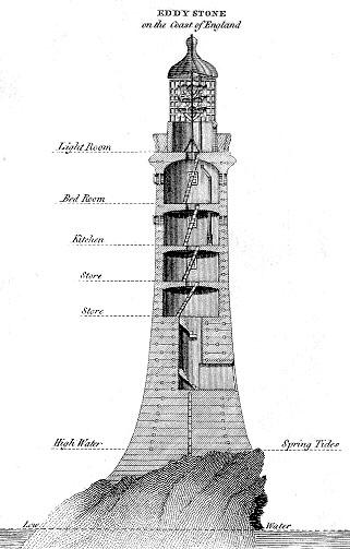 Faro Eddystone o Torre Smeaton, Reino Unido