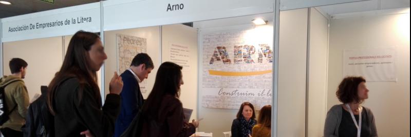 Participació d'Arnó a la fira del Treball de la Universitat de Lleida
