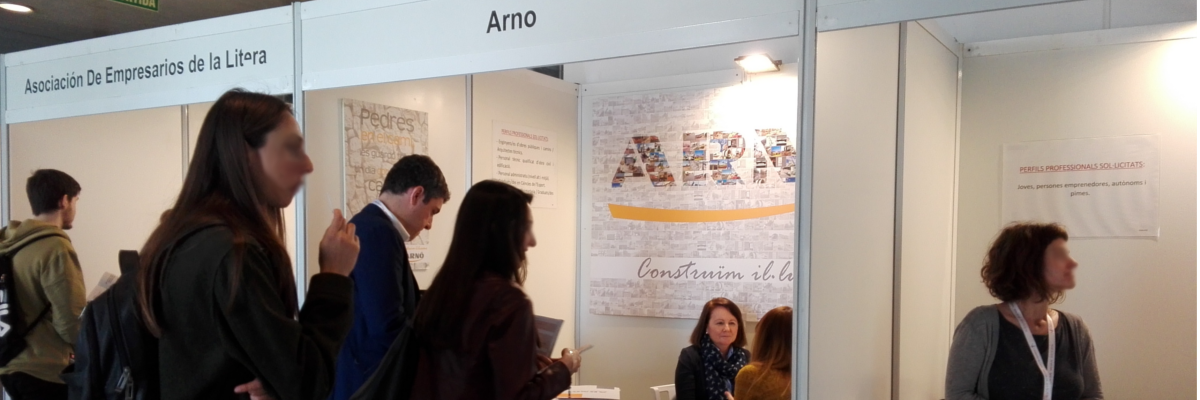Arnó participa cada año en la Fira de l'Ocupació de la Universitat de Lleida