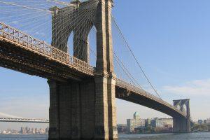 Puente de Brooklyn, vista desde Manhattan.