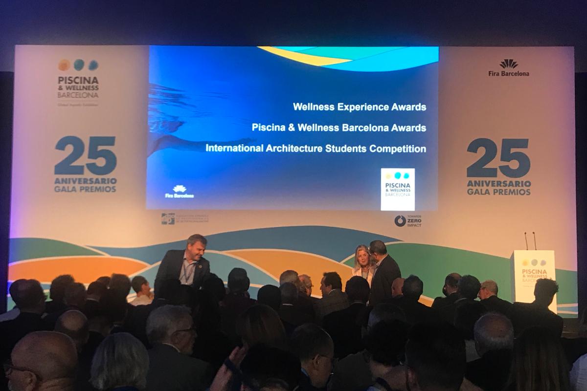 Gala de lliurament dels premis Piscina & Wellness 2019. / Gala de entrega de los premios Piscina & Wellness 2019. Foto: Piscina & Wellness