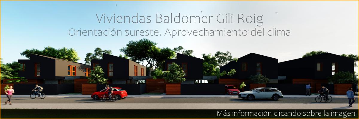 Viviendas baldomer-nueva promoción exclusiva de 5 casas unifamiliares en Lleida.